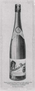 Virginia Dare, the once best-selling wine in the US. Courtesy of cdlib.org.