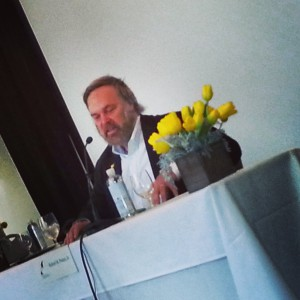 Robert Parker, 2014 Wine Writers Symposium.