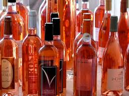 Various shades of rosé. (Source: Wikimedia)