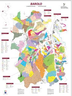 A detailed vineyard map of Barolo (Source: Consorzio di Tutela Barolo Barbaresco Alba Langhe e Roero)