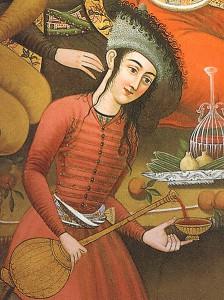 17th Century painting of Persian wine (Wikimedia)