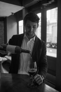 Caleb Ganzer, Chef Sommelier at La Compagnie Vin Surnaturels