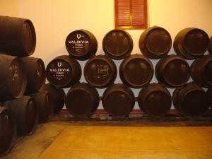 Three level of Sherry solera in Jerez. (Wikimedia)
