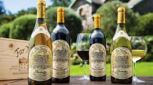 Far Niente wines. (Source: Far Niente Winery)