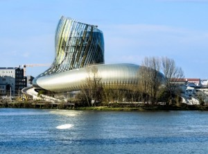 La Cité du Vin in Bordeaux.