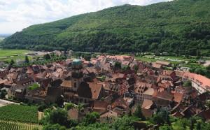 Village of Kaysersberg in Alsace. (Wikimedia)