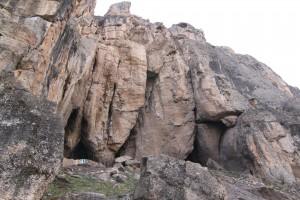 Entrance to the Areni-1 cave in Armenia. (Wikimedia)