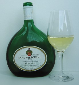 Bottle of German Silvaner. (Wikimedia)