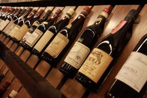 Bottles of Barolo. (Wikimedia)