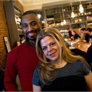 Khalid Pitts and Diane Gross, owners of Cork Wine Bar in Washington D.C. (Source: Cork Wine Bar)