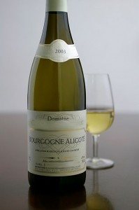 Aligoté wine from Burgundy. (Wikimedia)