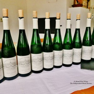 The 2016 Saar Riesling collection by Hofgut Falkenstein. (Source: Mosel Fine Wines)