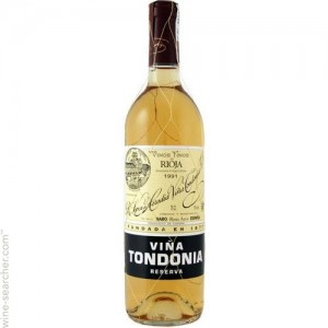 R. Lopez de Heredia Vina Tondonia Reserva Blanco, a widely-loved White Rioja.