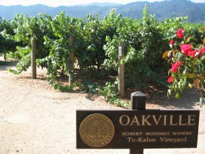 The To Kalon vineyard in Oakville. (Wikimedia)