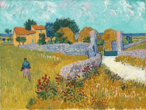 "Vincent Van Gogh's ""Farmhouse in Provence"" (Wikimedia)."