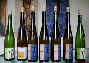 Alsatian wines at Domaine Ostertag. (Flickr: Megan Cole)