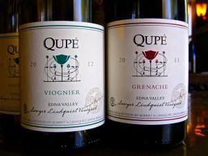 Qupé wines.