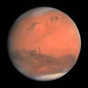 Mars. (Source: Wikimedia)