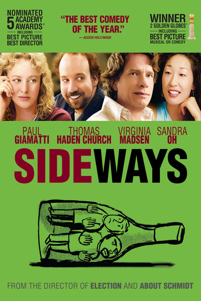 The movie Sideways premiered in 2004.