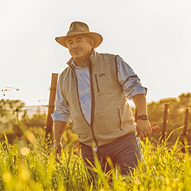 Rolando Herrera, co-founder/winemaker at Mi Sueño Winery. (Photo credit: Mi Sueño Winery)