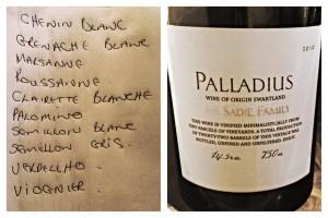 "Terroir-driven ""recipe"" for Palladius"