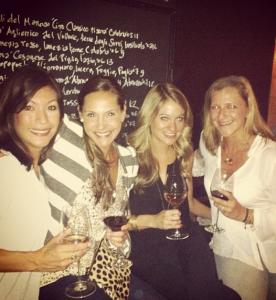 Millennials. Drinking Wine. At a Restaurant.